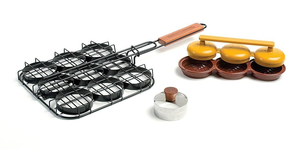 Sliders Mini Burger Grill Set