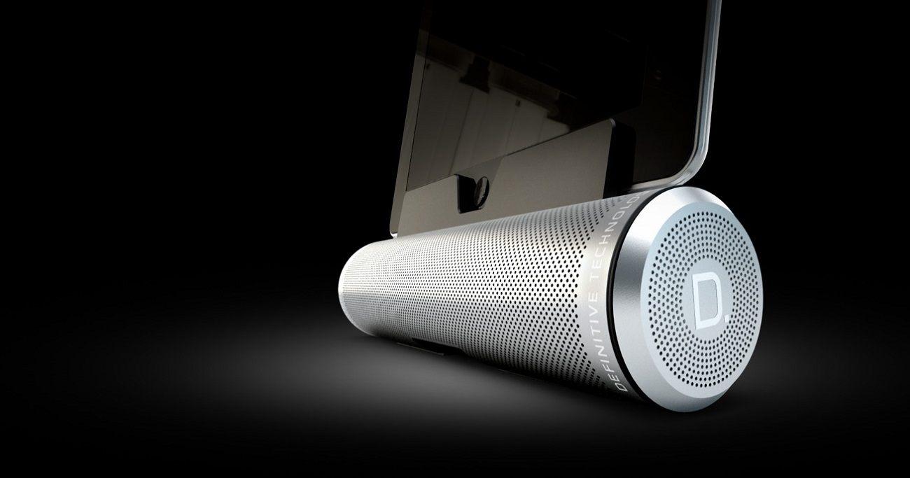 Sound+Cylinder+Portable+Speaker+System