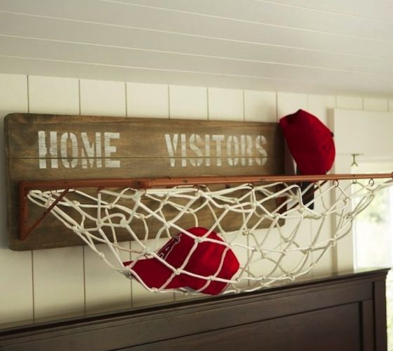 Sports Wall Horizontal Storage