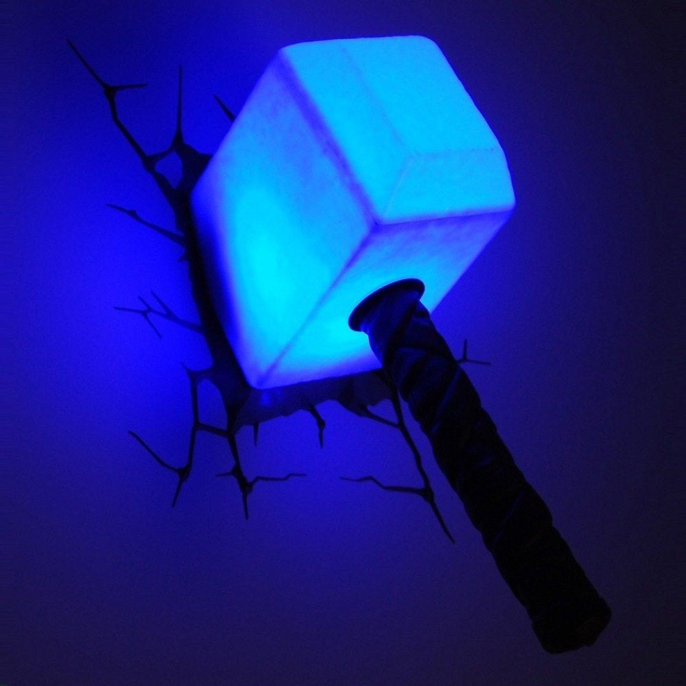 Thor Hammer 3D Nightlight