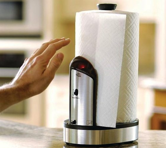 Towel-Matic Touchless Towel Dispenser