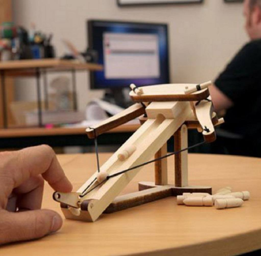 Wooden Ballista Kit 187 Gadget Flow