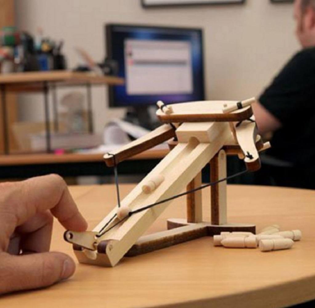 Wooden Ballista Kit 187 Gadget Flow
