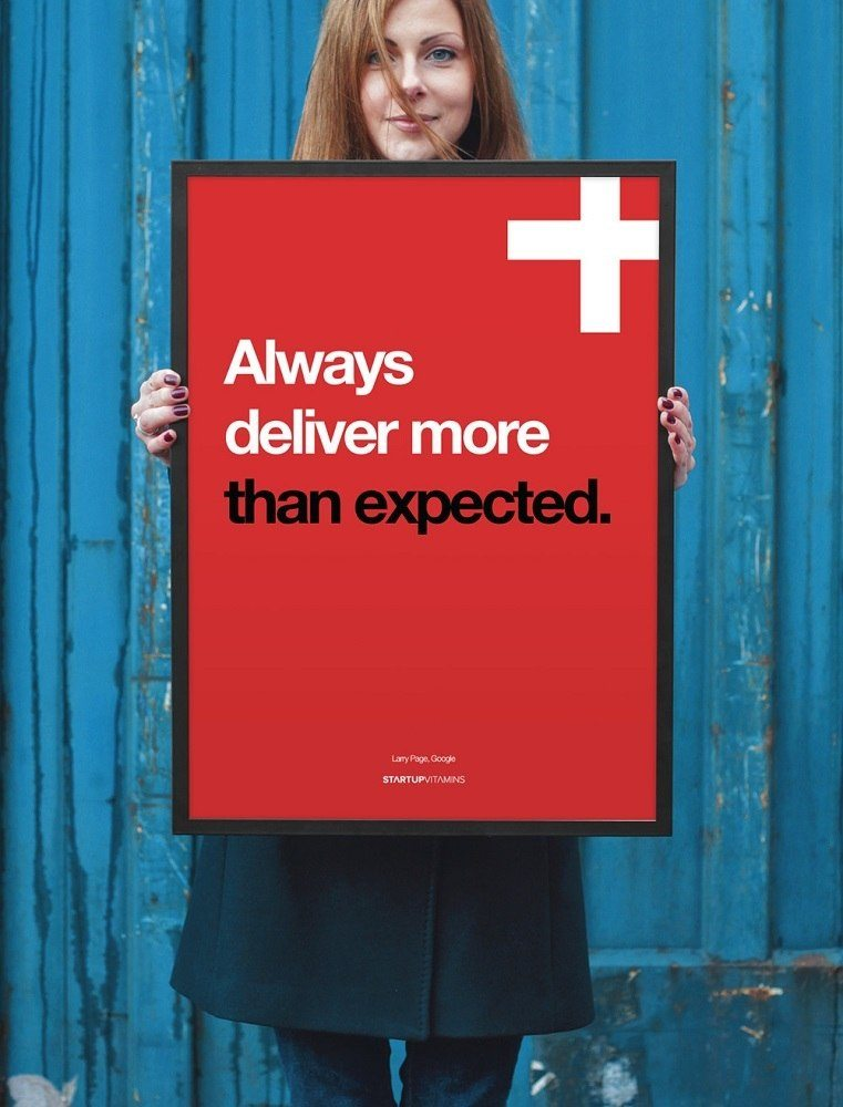 Always+Deliver+More+Than+Expected+Poster