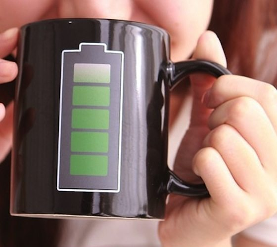Battery Coffee Mug loading=
