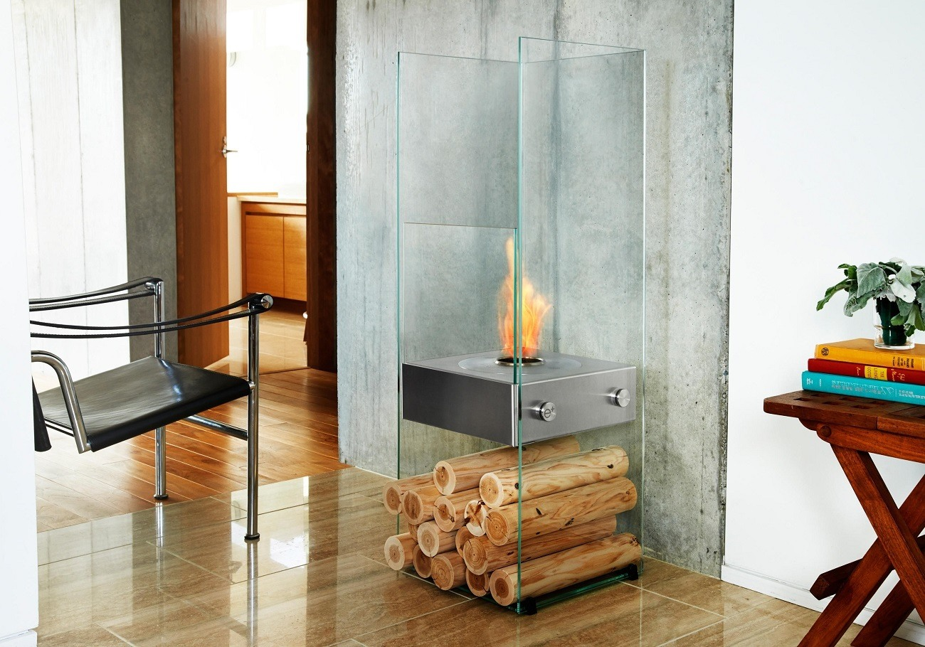 Ghost Slim Framed Fireplace by Ecosmart