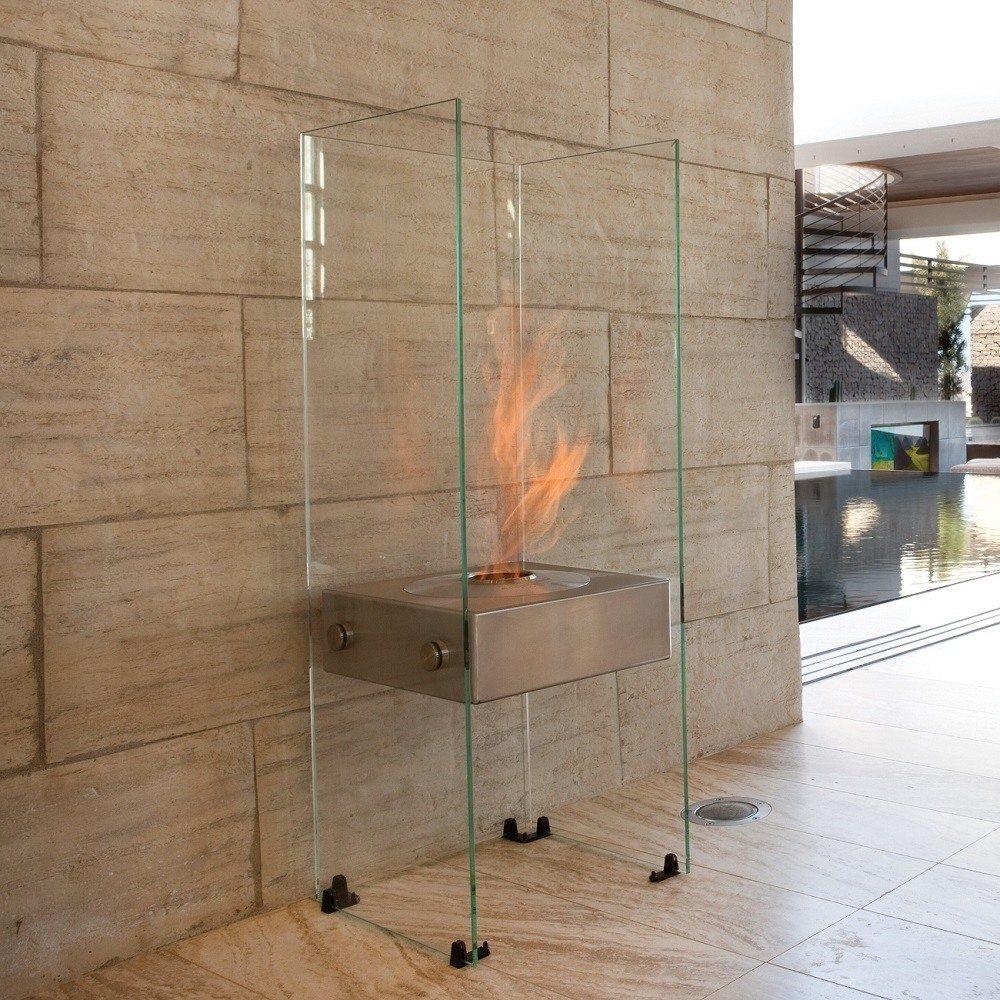 Ghost Slim Framed Fireplace by Ecosmart