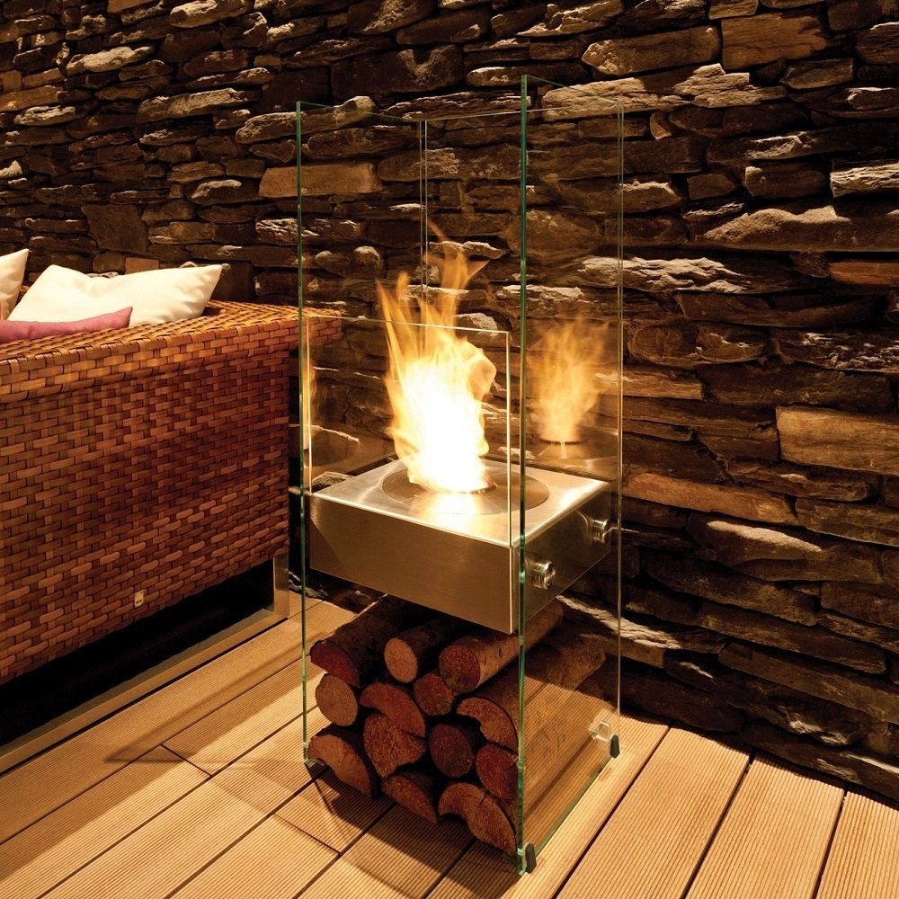 ... Ghost Slim Framed Fireplace by Ecosmart ...
