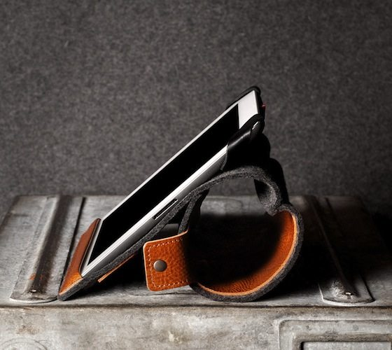 Leather+And+Felt+IPad+Case