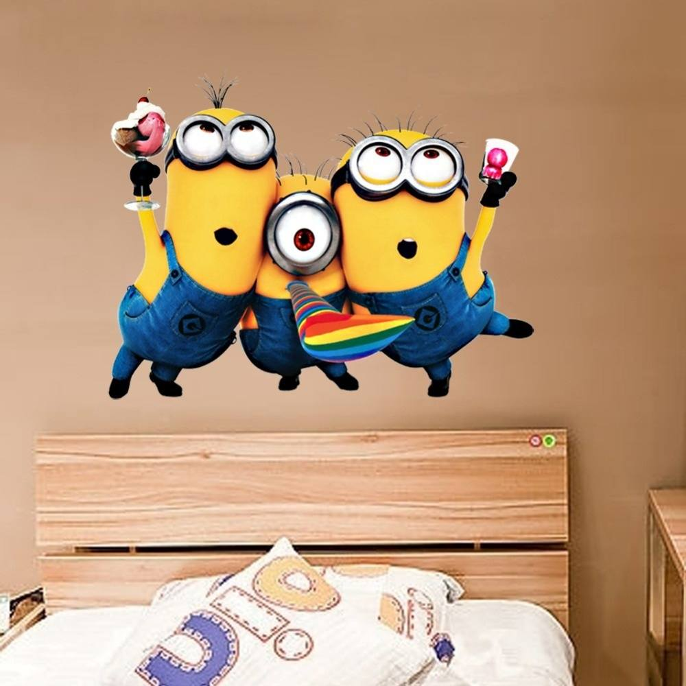 Despicable Me Minions Wall Decal