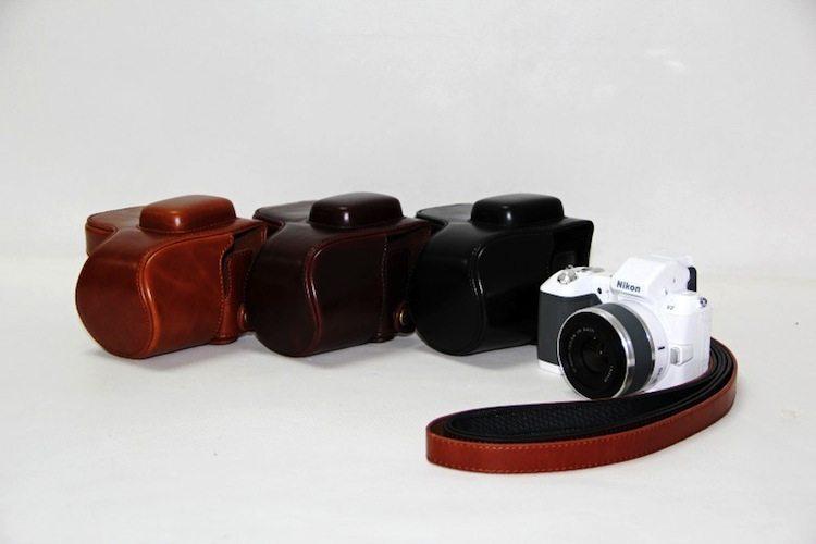 Nikon Leather Camera Case