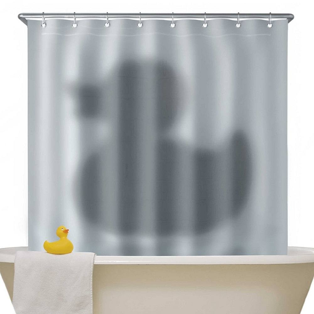 Shadow+Of+The+Duck+Shower+Curtain