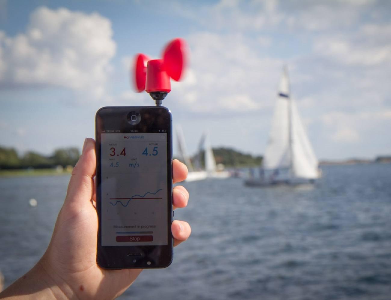 Vaavud iPhone & Android Wind Meter