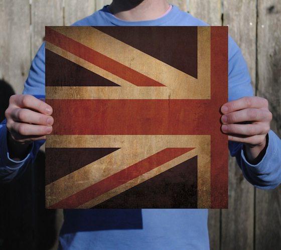 Vintage Flag Prints