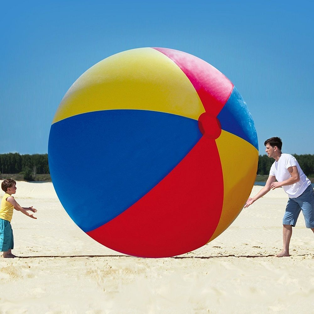 Big Mouth Toys Gigantic Beach Ball loading=