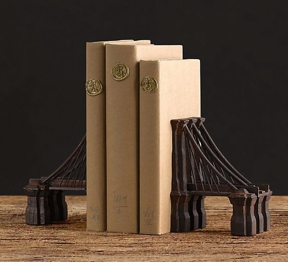 Brooklyn Bridge Bookends