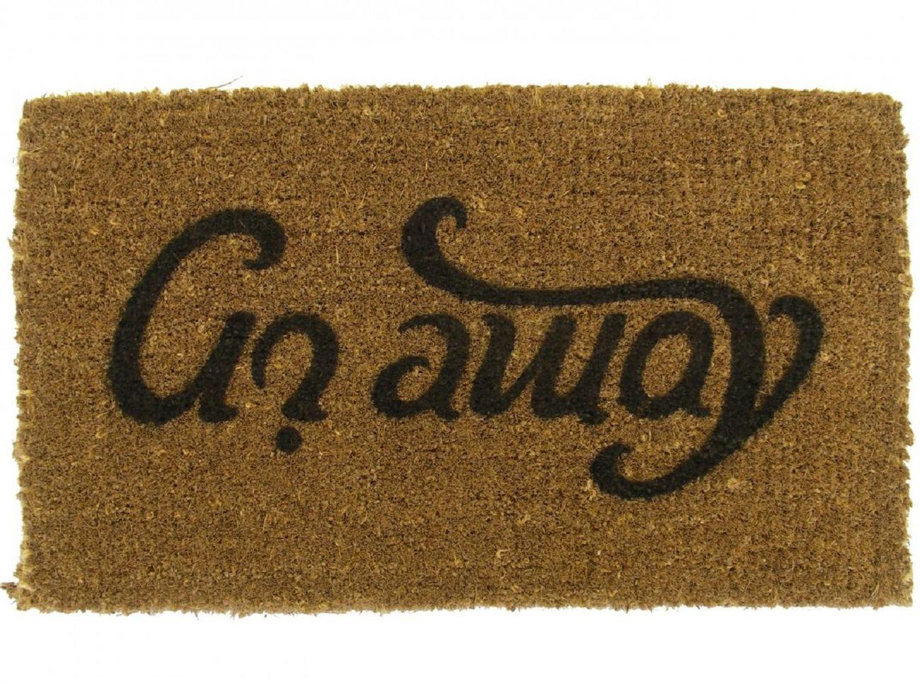 Come In-Go Away Doormat
