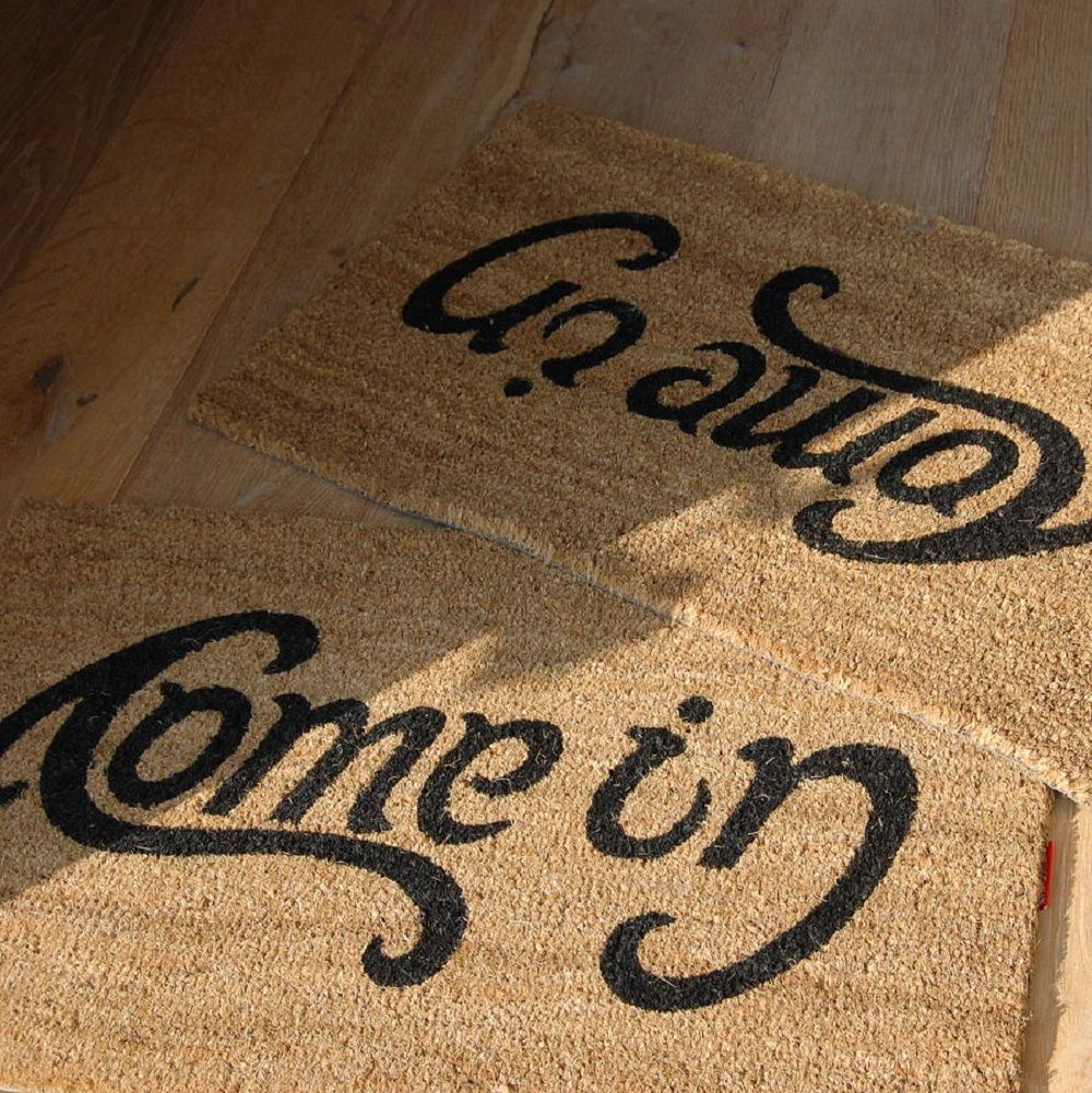 Come In Go Away Doormat Gadget Flow