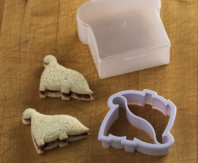 Dinosaur Sandwich Cutter And Container