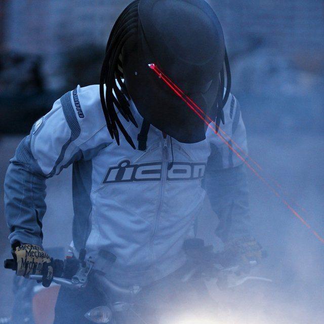 Dredator 3 Motorcycle Helmet