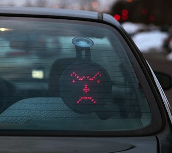Drivemotion LED Car Sign