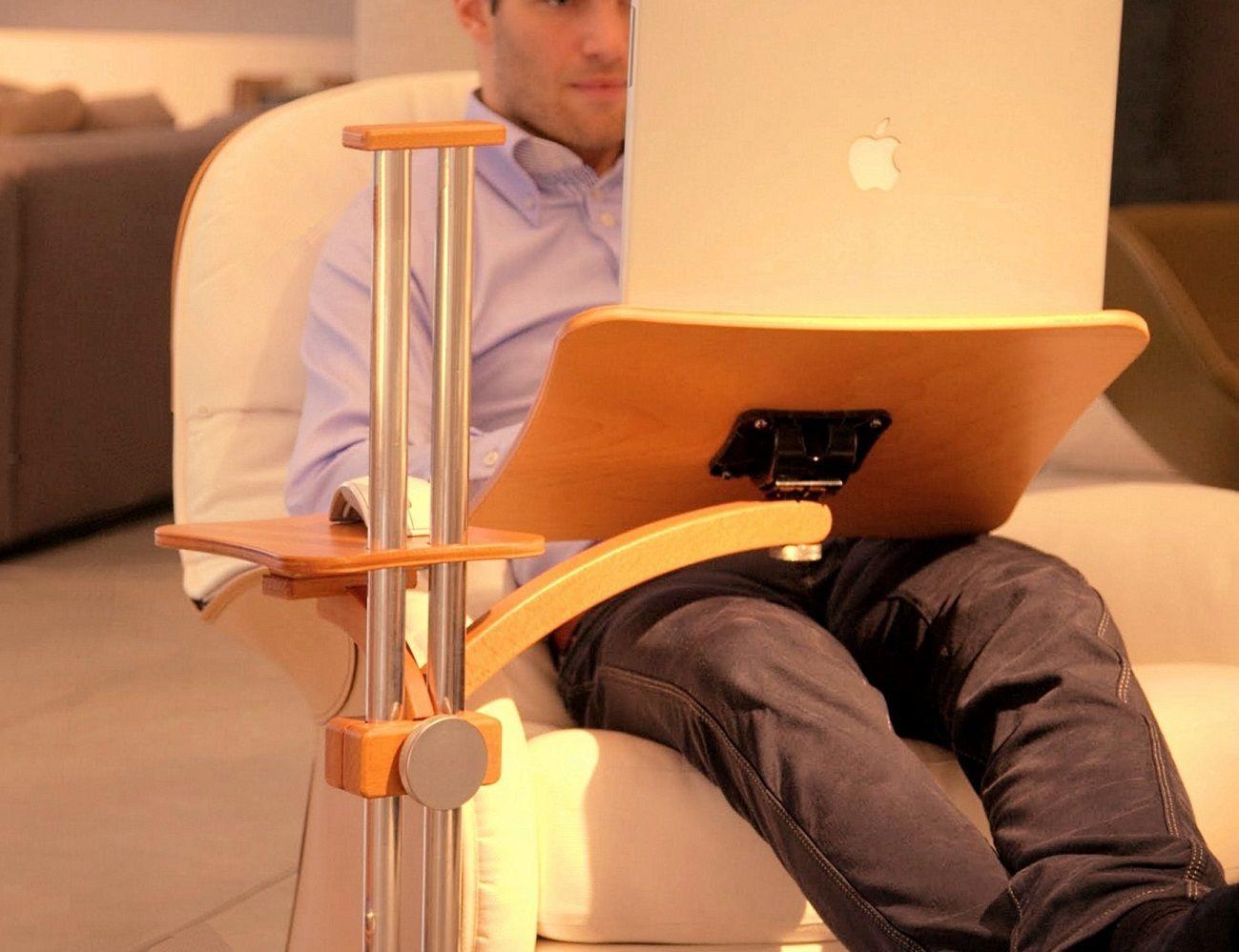 Ergonomic Laptop Table By Lounge-Tek