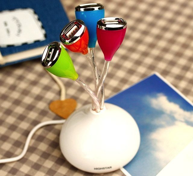Flower+USB+Hub