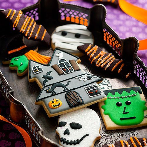 Halloween+Copper+Cookie+Cutters