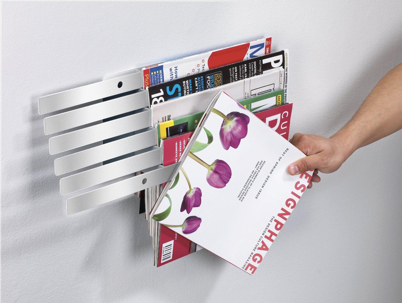 Illuzine Wall-Mount Magazine Rack