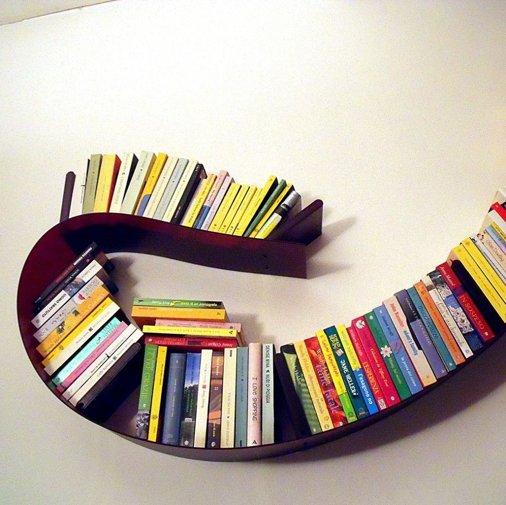 Kartell+Bookworm+Shelf