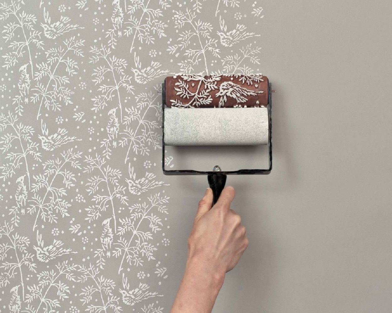 Patterned Paint Roller  Patterned Paint Roller ...