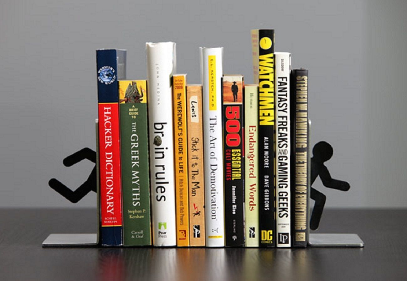 Portal+2+Bookends+For+Shelf+And+Books