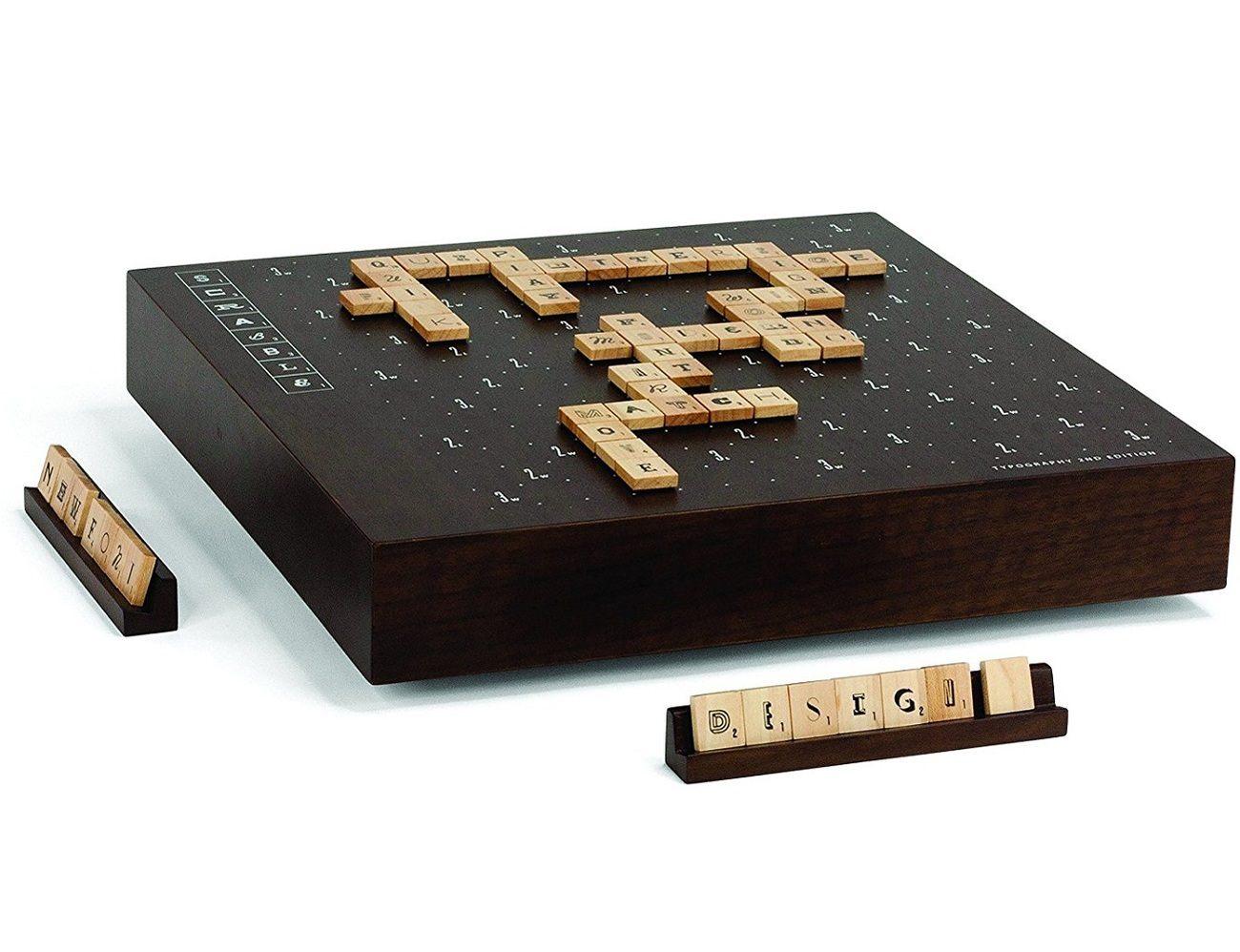 Scrabble Typography