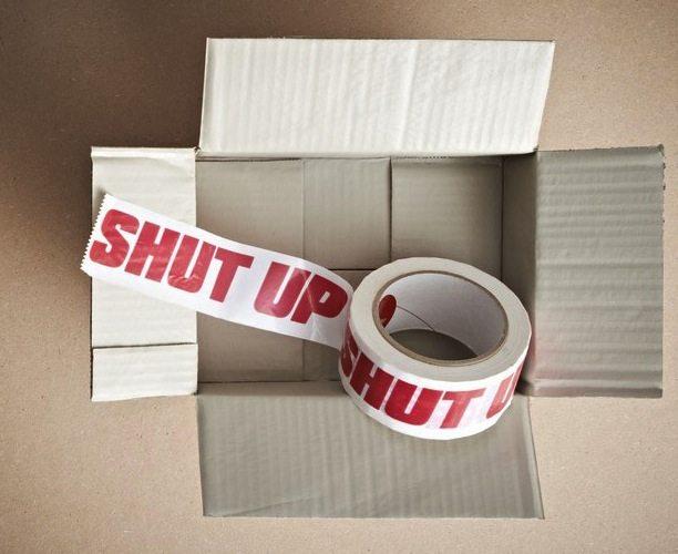 Shut Up Tape