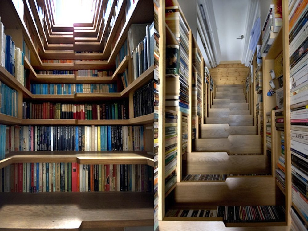 Staircase-Bookshelf