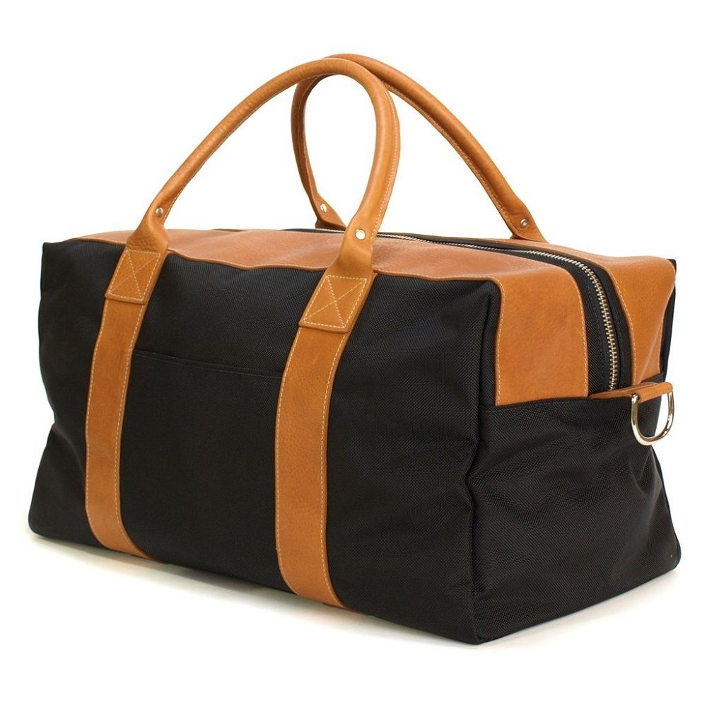 The Worton Weekender Leather Bag By Blue Claw