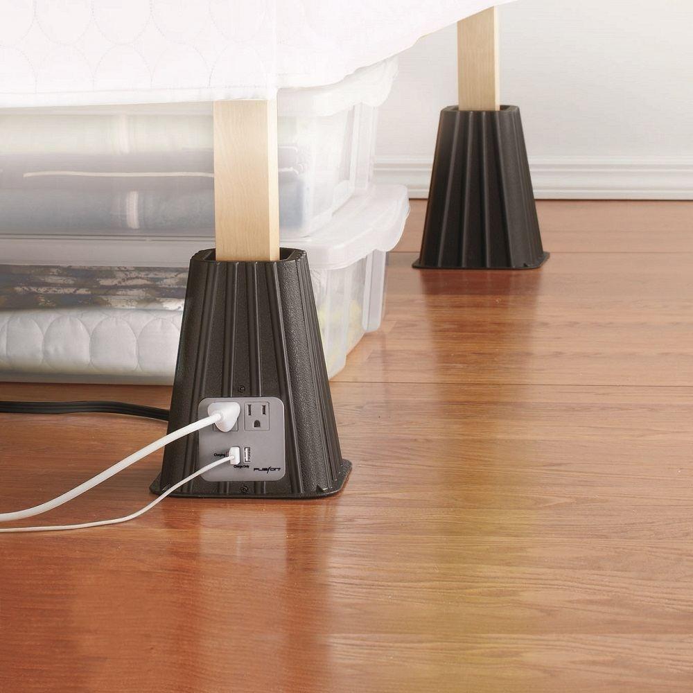 Meijer Bed Risers Gadget Flow