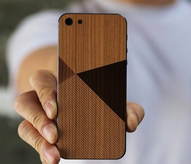 iPhone SE/5s Wood Skin By BlissfulCase