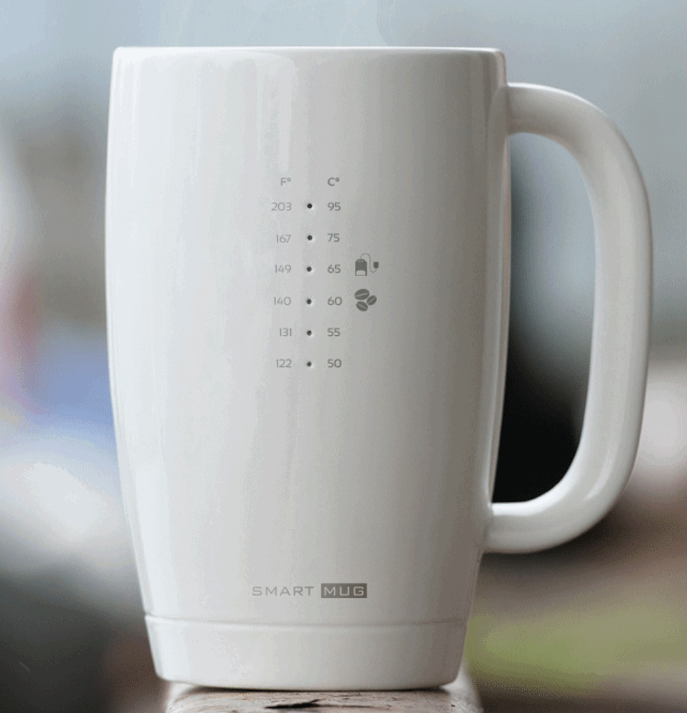 Smart Mug: your favourite hot beverages served right
