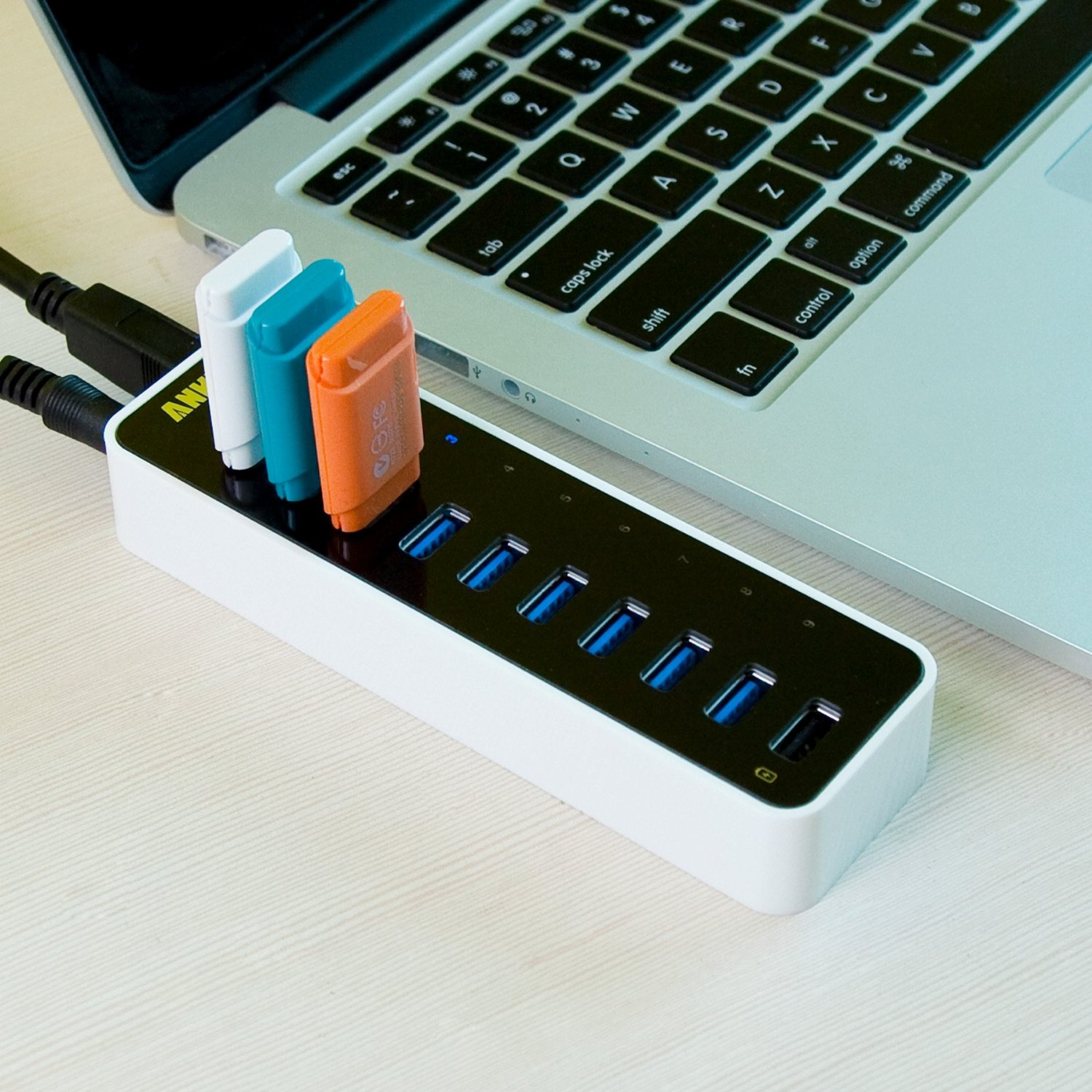 9 USB-Port Superspeed Hub