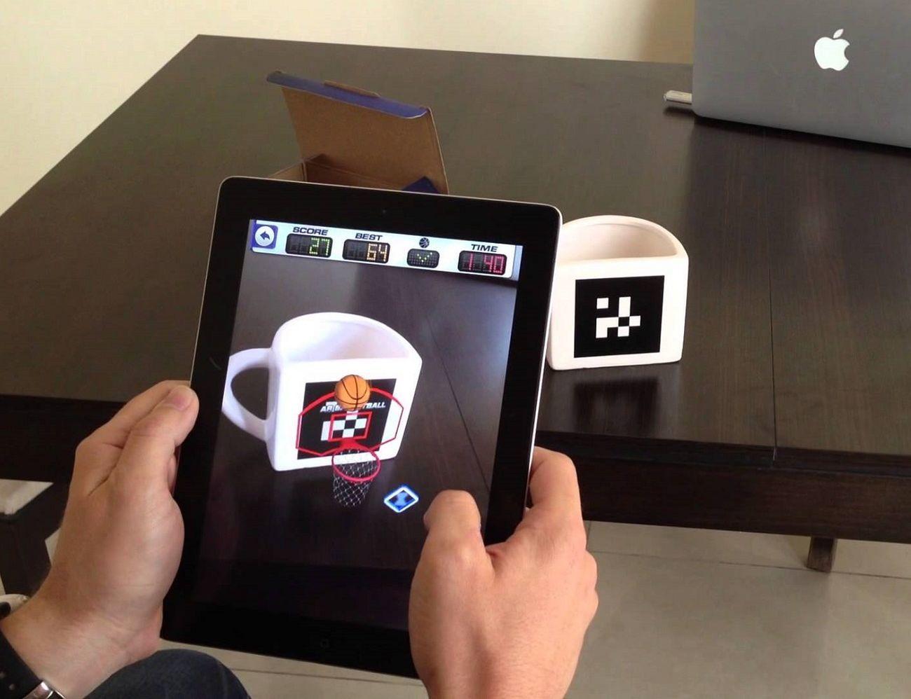 AR Basketball App Mug