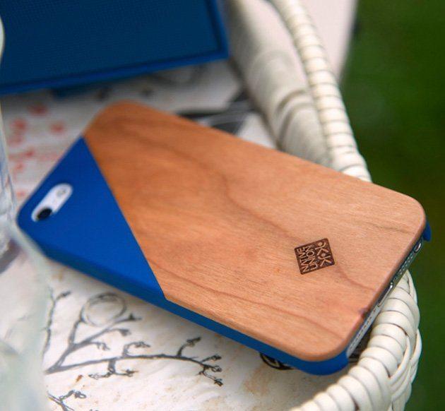 Click Wooden iPhone SE/5s Case