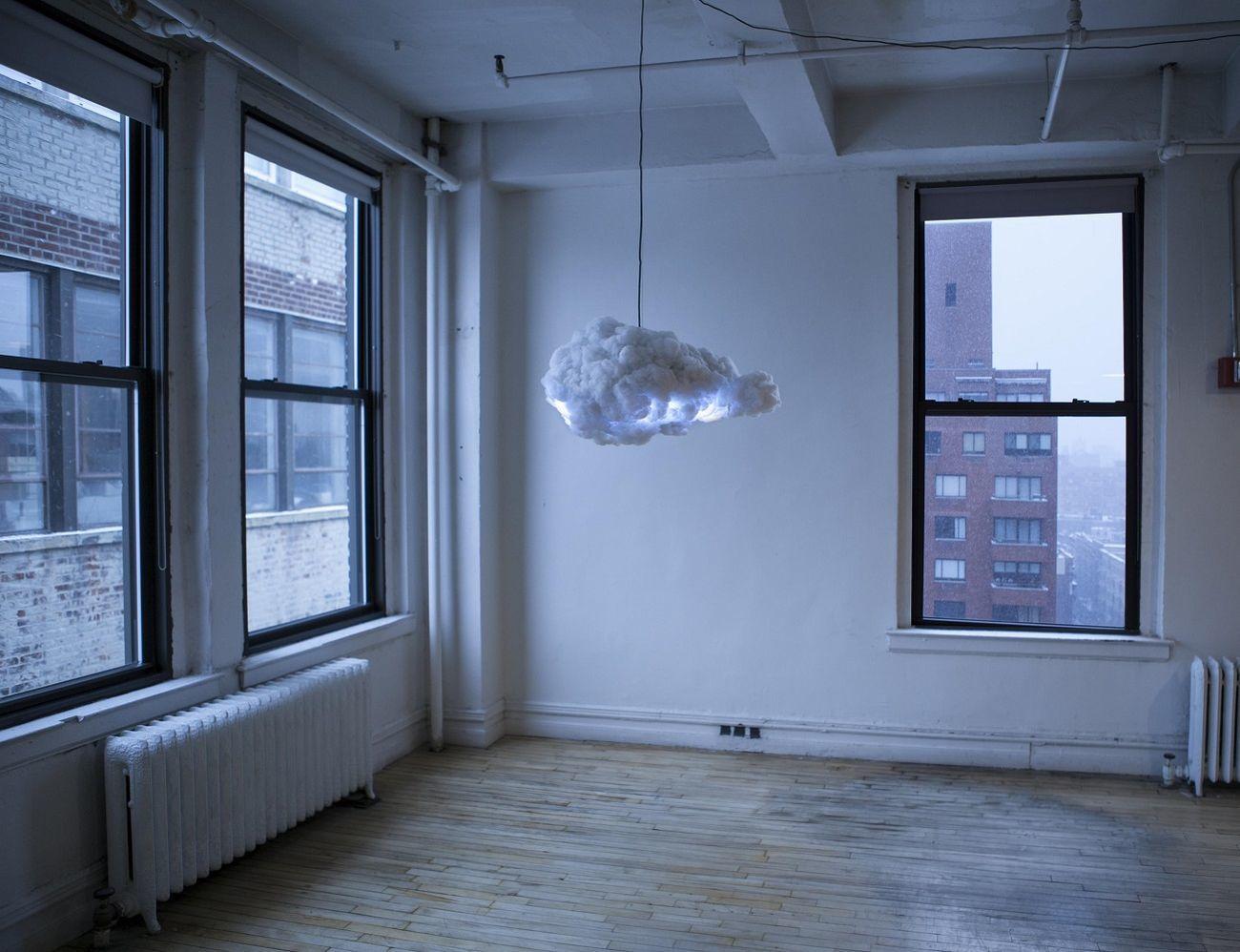Cloud Lamp and Speaker