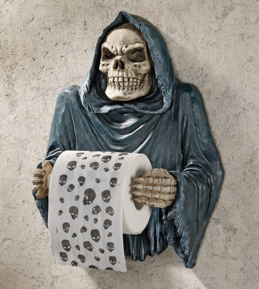 Grim+Reaper+Sculptural+Bath+Tissue+Tyrant