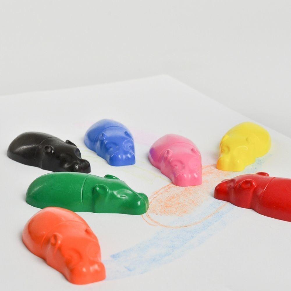 Hippo-Shaped+Kaba+Crayons