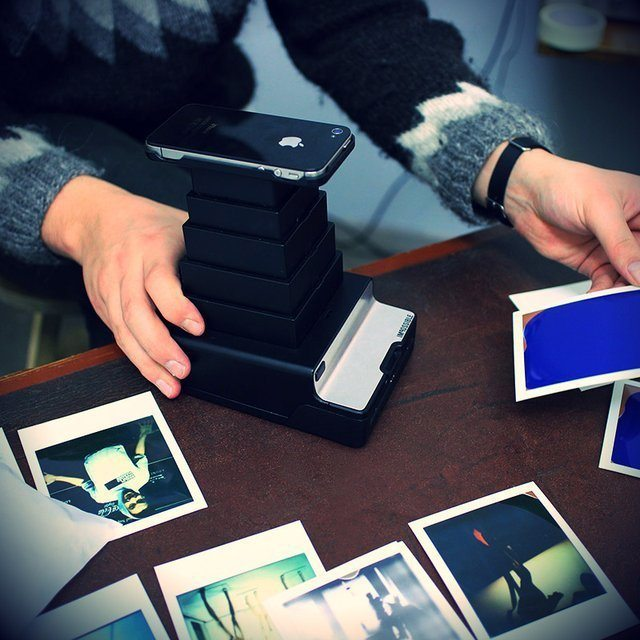 Impossible Instant Lab iPhone to Polaroid Converter