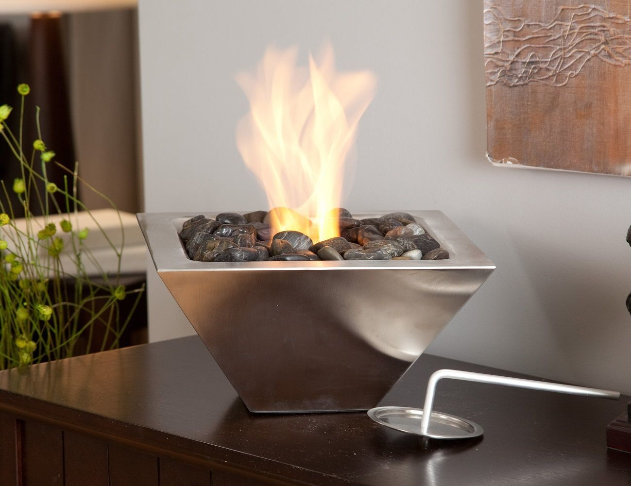 indoor  outdoor tabletop fireplace » gadget flow - indoor  outdoor tabletop fireplace
