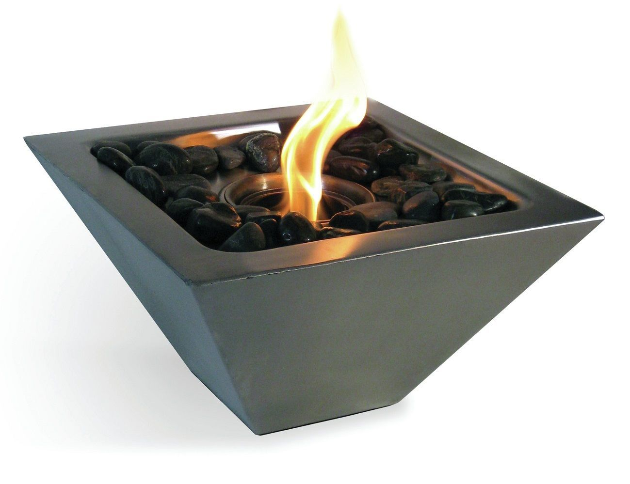 Indoor outdoor tabletop fireplace gadget flow for Bio ethanol fire pit