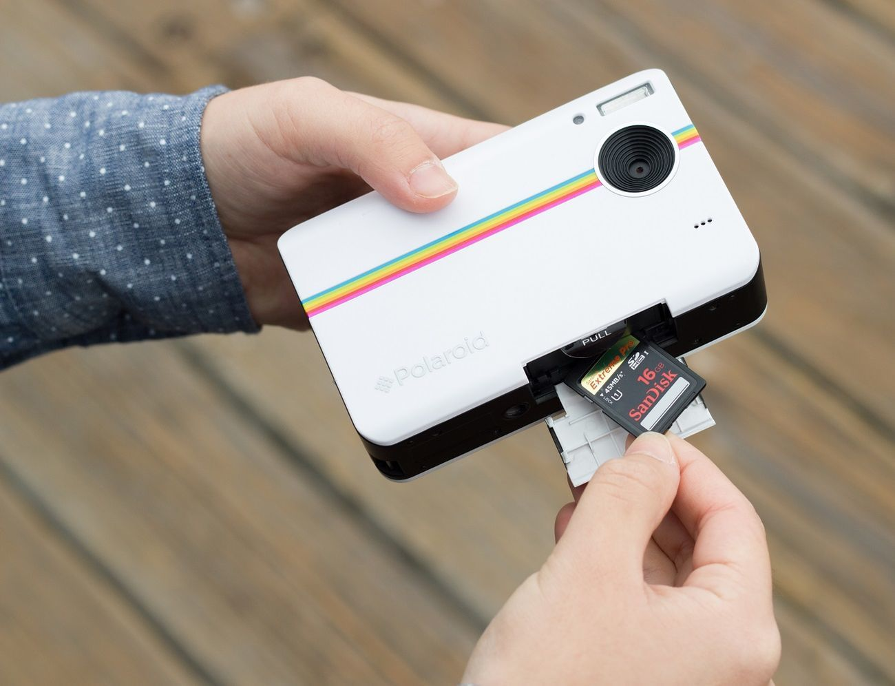 Instant+Digital+Camera+From+Polaroid