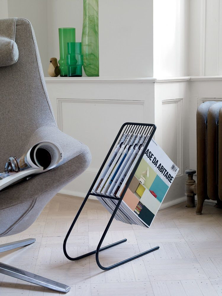 Magazine Stand Designs : Take a look at the j me float magazine rack for your home